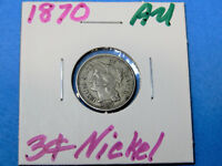 1870 3 CENT NICKEL                    CIRCULATED COIN