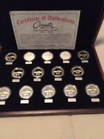 CORVETTE STING RAY COINS SET