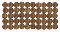 1955 D LINCOLN WHEAT CENT ROLL CIRCULATED