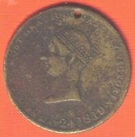 1838 R TYPE MEDAL CORONATION OF QUEEN VICTORIA   4115