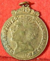1823 WELL PRESERVED TWO SOVEREIGN TOKEN MOUNTED AS A FOB 1264