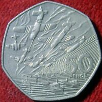 1994 D DAY LANDINGS 50 PENCE. LITTLE IF ANY CIRCULATION 9610