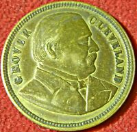 CHICAGO WORLDS FAIR 1893 GROVER CLEVELAND MEDAL COLUMBIAN EXPOSITION   9756