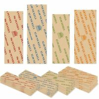 300 COIN ROLL WRAPPERS FOR U.S. COINS -125 EACH OF PENNY, NICKEL, DIME AND