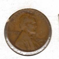 1940 D F LINCOLN WHEAT CENT W/SHIPS FREE
