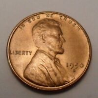 1950 S LINCOLN WHEAT CENT / PENNY COIN   FINE OR BETTER  SHIPS FREE