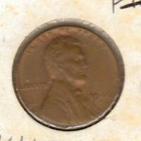 1947 D VF LINCOLN WHEAT CENT W/SHIPS FREE