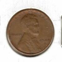 1948 D EXTRA FINE  LINCOLN WHEAT CENT W/SHIPS FREE