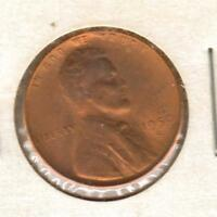 1950 S BU RED LINCOLN WHEAT CENT W/SHIPS FREE