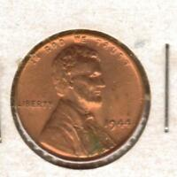 1944 P AU LINCOLN WHEAT CENT W/SHIPS FREE