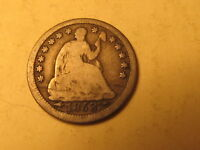 1853 HALF DIME WITH ARROWS IN G GOOD CONDITION