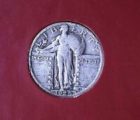 1929 S STANDING LIBERTY QUARTER EF 90 SILVER COLLECTIBLE GIFT IDEA 1916-30 Q