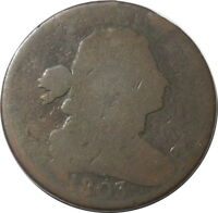1803 DRAPED BUST S252 LARGE CENT 1C KEY DATE BETTER GRADE $