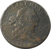 1800 DRAPED BUST S202 LARGE CENT 1C KEY DATE BETTER GRADE $