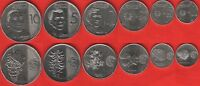 PHILIPPINES SET OF 6 COINS: 1 SENTIMO   10 PISO 2017 2018