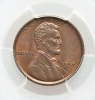 1915-D PCGS MINT STATE 65 BN LINCOLN CENT BETTER DATE ATTRACTIVE  COLOR SECURE LABEL