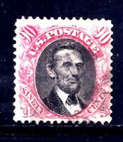 US STAMPS   122   USED BEAUTY   90 CENT   1869 PICTORIAL ISSUE   CV $1700