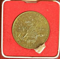 NEW YORK EXHIBITION 1960 ROYAL MINT MEDAL IN CASE OF ISSUE  3460