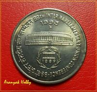 1 RUPEE 1993 - 89TH INTER PARLIAMENTARY UNION CONFERENCE - MUMBAI MINT UNC COIN