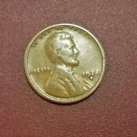 1928 S LARGE S LINCOLN CENT ORIGINAL COIN GOOD