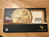 2014 NATIVE HOSPITALITY AMERICAN COIN AND CURRENCY SET WITH ENHANCED SACAGEWEA