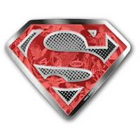 DC COMICS ORIGINALS   SUPERMAN'S SHIELD PROOF SILVER COIN 10