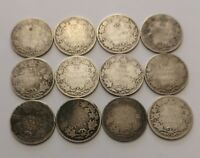 CANADA COINS LOT    LOW GRADE STERLING SILVER    92.5