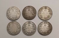 CANADA COINS LOT     STERLING SILVER 92.5      $ 3 00 FA