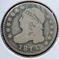 1814 CAPPED BUST DIME 10C BETTER GRADE   11155
