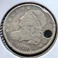1835 CAPPED BUST DIME 10C BETTER GRADE   11162