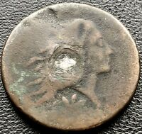1793 WREATH CENT LARGE CENT 1C FLOWING HAIR ONE CENT FIRST YEAR  11610