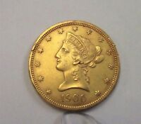 1900 $10  TEN DOLLAR GOLD PIECE