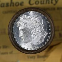 $20 SILVER DOLLAR ROLL 1880 & CC MINT MORGAN DOLLAR ENDS