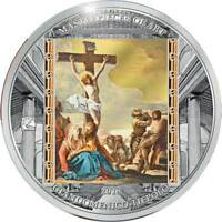 GOOD FRIDAY MASTERPIECES OF ART OZ PROOF SILVER COIN COOK IS