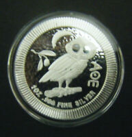 2017 $2 1OZ NIUE ATHENIAN OWL STACKABLE SILVER BULLION COIN