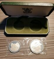CYPRUS 1976 500 MILS AND 1 POUND SILVER PROOF ORIGINAL IN CA