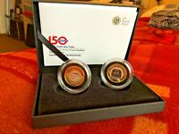 2  SILVER PROOF PIEDFORT COIN SET TALES OF TUBE LONDON UNDER