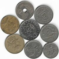 LOT COINS COLLECTION T8