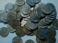 GREAT BRITAIN  ONE  6 PENCE SIXPENCE  1962 1963 1964 1965 1966 1967 WEDDING GIFT