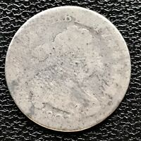1807 DRAPED BUST DIME 10C  EARLY DATE CIRCULATED  7677