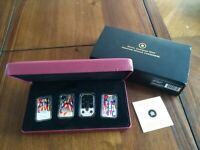 2008 2009 STERLING SILVER PLAYING CARD MONEY SET NO RESERVE