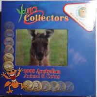 AUSTRALIA 12 COIN $1 ANIMAL 2008 COMPLETE SET MINT PACKAGE F
