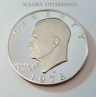 1978 S EISENHOWER PROOF DOLLAR COIN  SHIPS FREE