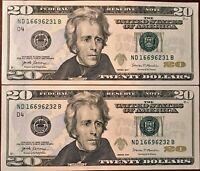 2017 $1.00 FEDERAL RESERVE NOTE - UNCIRCULATED INV. C