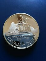 1987 CANADIAN SILVER DOLLAR  $1  NO RESERVE