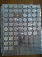 LOT OF 64 DIFFERENT NICKEL  5C  NEAR COMPLETE 1922 2005 NO R