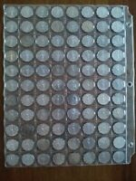 LOT OF 88 VICTORY NICKEL  5C  FROM 1944 1945 NO RESERVE
