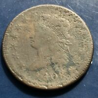 1808 LARGE CENT CLASSIC HEAD ONE CENT 1C CIRCULATED 9918
