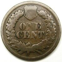 1872 INDIAN HEAD CENT 8 G SHALLOW N VARIETY REVERSE FS-901