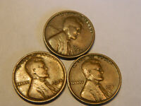 1924, 1924D & 1924S LINCOLN CENTS